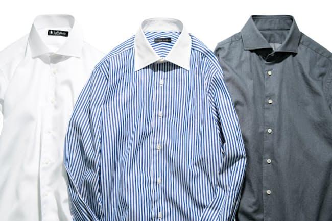 体に合ったオーダーシャツは、デザイン性だけでなく、動きやすく体にも優しい