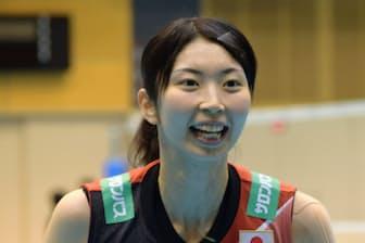女子バレー日本代表主将の岩坂名奈さん