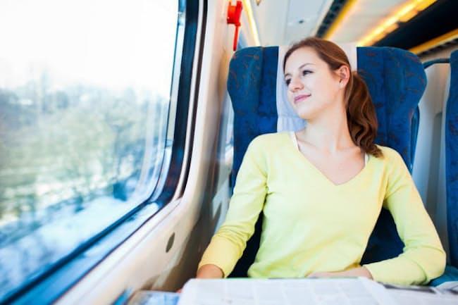 乗り物で長時間移動すると、ただ座っているだけでも、疲れるのはなぜ?(c)lightpoet-123rf