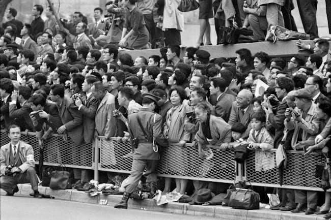 1964年に撮影した東京五輪 (C)Raymond Depardon/Dalmas-Sipa Press J.O.Tokyo 1964