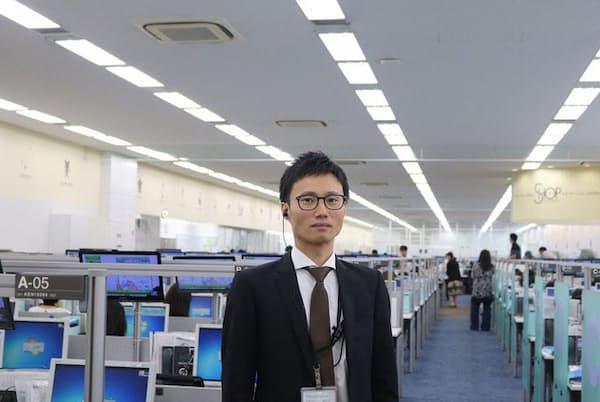 ジュピターショップチャンネルの鈴木康太郎・東京コールセンターオペレーショングループ長