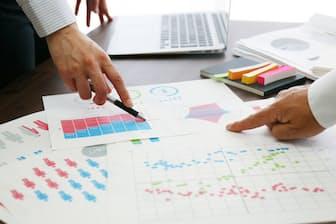 関連資料を見れば、KPIとそのマネジメントの優劣がわかる=PIXTA