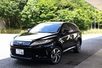 マイナーチェンジしたトヨタの3代目「ハリアー」。税込み価格は294万9480~495万3960円。写真はターボモデル