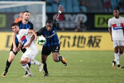 中国ではサッカーの大きな国際大会が数多く開かれている(7月のインターナショナル・チャンピオンズ・カップ)=ロイター