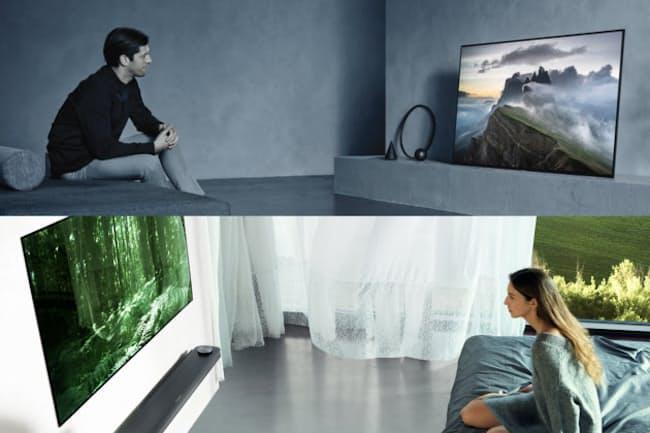 国内メーカーからも製品が発売され始めた有機ELテレビ