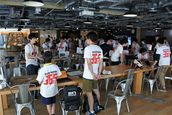 国は今年度から、サイバーセキュリティー人材を育てるためのプログラム「セックハック」を始めた(8月23日、福岡市)