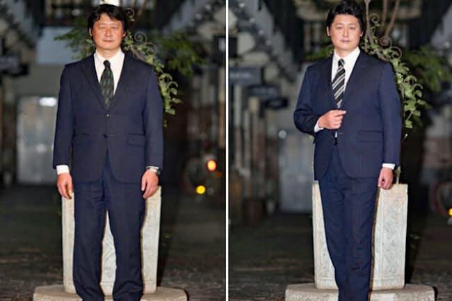 同じスーツでも着こなし方で印象が大きく変わる