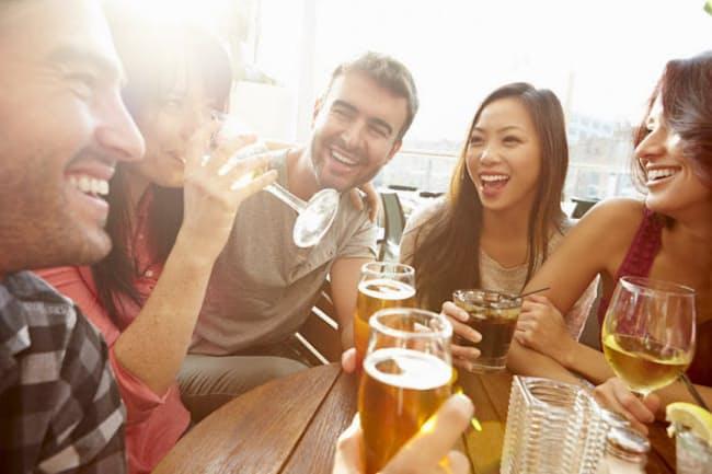 日本酒、ビール、ワイン、どれも醸造酒だが糖質の量に違いはあるのだろうか(c)Cathy Yeulet-123rf