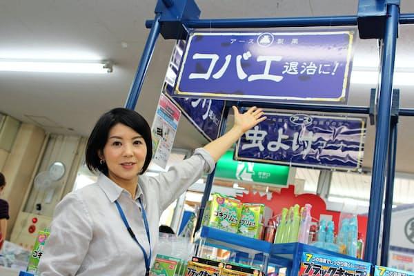 桜井さんは売り上げデータなどを駆使し、売り場の「戦略」を練り上げる