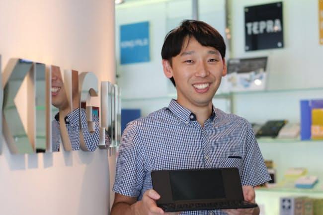 キングジム商品開発部デジタルプロダクツ課の東山慎司リーダー