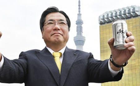発売30周年の「スーパードライ」と平野伸一社長