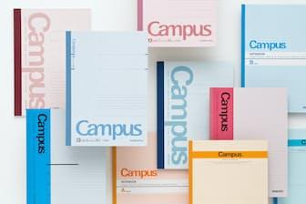 学習用ノートの代名詞ともいえるコクヨの「キャンパスノート」。現在販売されているのは第5世代になる
