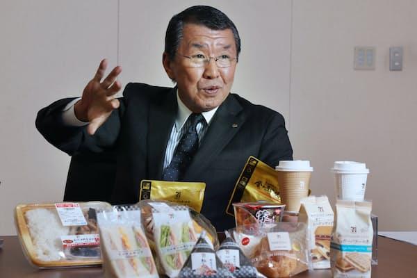 セブン―イレブン・ジャパンの古屋一樹社長
