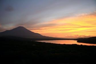 山中湖パノラマ台(山梨県山中湖村)