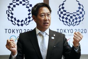 スポーツ庁長官の鈴木大地氏は「国民のスポーツ意識の高まりを五輪のレガシーにしたい」と意気込む