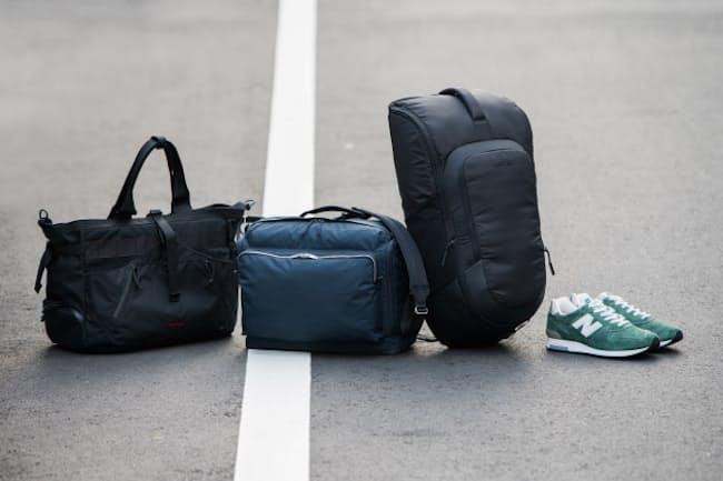 スポーツバッグに見えないデザインのシューズ収納付きバッグが増えている