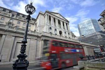 東京都が金融分野で提携するロンドンのシティー=ロイター