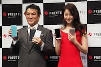 プラスワン・マーケティングは「FREETEL」ブランドでスマホや通信サービスを提供。ベンチャーながら大規模なCM展開を実施するなど派手な施策で注目を集めていた