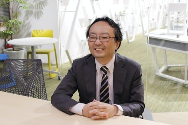 富士フイルム・オープン・イノベーション・ハブ館長の小島健嗣氏