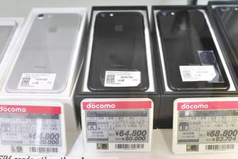 iPhone 7の中古品はまだ高い。程度が悪いものならば5万円台で入手できるが、6万円台が中心だ