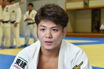 憧れの選手は五輪3連覇の野村忠宏さん。「いつか4連覇したい」と話す