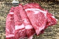 黒毛和牛のロース肉