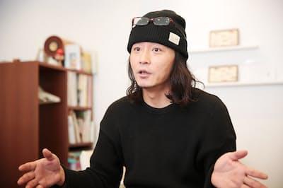 「がん患者さんが普通に通える美容院を増やしたい」と話す上野修平さん