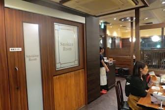 居酒屋大手のワタミは、一部の店舗で喫煙ルームを設け、全席禁煙にしている