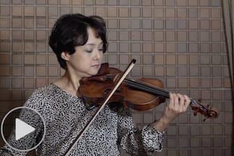 川田知子25周年のバッハ無伴奏バイオリン