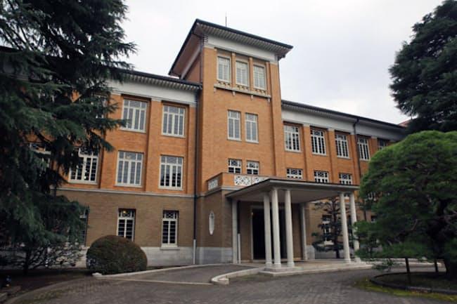 東京郊外にある津田塾大学の小平キャンパス