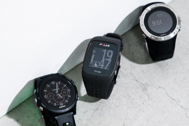 GPSウオッチはスポーツだけでなく健康管理にも役立つ。今回は最新の心拍計付きモデルを紹介する