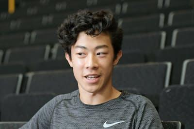 米国の男子フィギュアスケート選手のネーサン・チェンさん