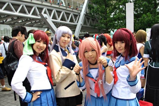 コミケについては継続できるよう主催者と東京都の間で調整を進めている(写真は2015年8月の会場の様子)