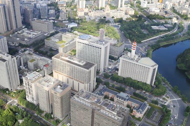 日本の政策立案にEBPMは浸透するか(東京・霞が関の官庁街)