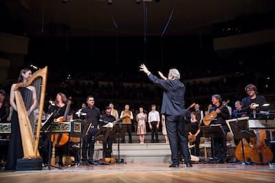 ガーディナー指揮によるオペラ『オルフェオ』の上演(Carolina Rodondo撮影)