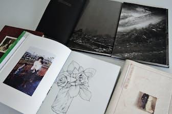 手製写真集では表現を深めるためイラストなども使う