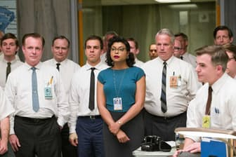 『ドリーム』(C)2016 Twentieth Century Fox 黒人女性として初めて宇宙特別研究本部に配属されたキャサリン(タラジ・P・ヘンソン)