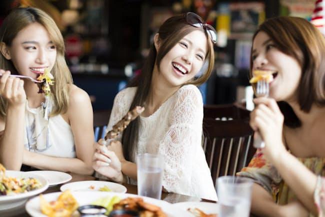 食べたいものを我慢せず食べながらも太らない、そんな食べ方のコツはあるのか?(c)wang Tom-123rf