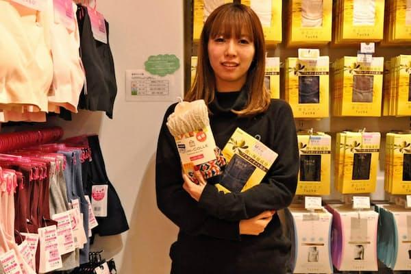「肌着の要望はストレートに店員に伝えられないことが多い」と吉田さん