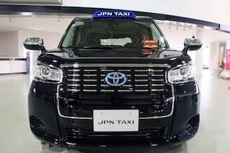 2017年10月23日にトヨタが発表した「ジャパンタクシー」