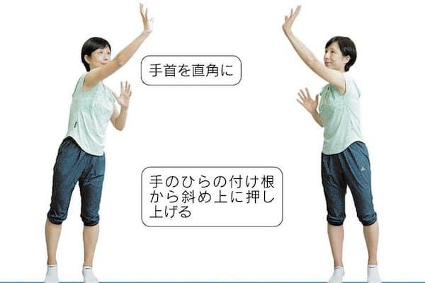 (モデルは早稲田大学エルダリーヘルス研究所招聘研究員・渡辺久美、以下同)