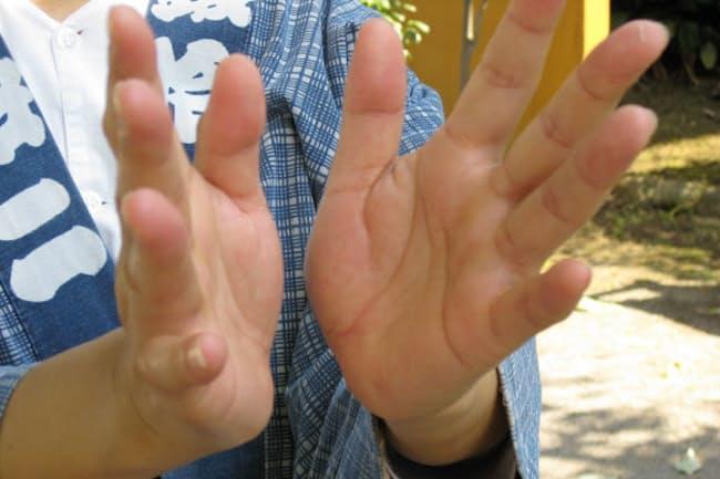 神田では「手は締めれば締めるほど絆が深まる」といわれる