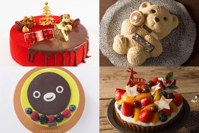 新宿駅、東京駅、品川駅の駅ナカで購入できるお薦めクリスマスケーキを紹介