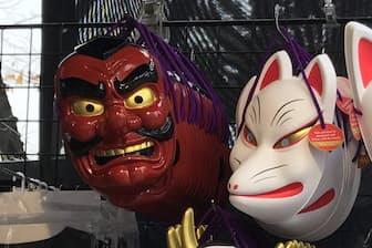 浅草寺の参道(東京都台東区)