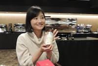 UCC上島珈琲 マーケティング本部グルメコーヒー事業部のプロジェクトリーダー、進裕子さん