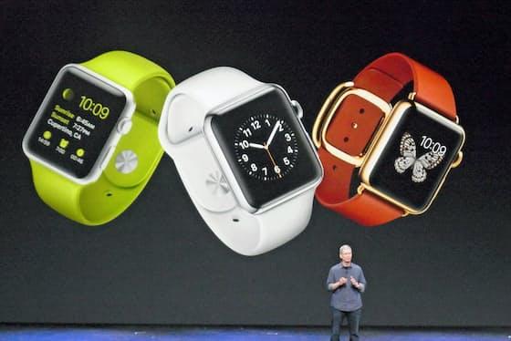 米アップルは2015年に「アップルウオッチ」を発表した