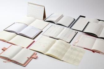 「ステーショナリー進化形」の手帳特集。今回はスマホでは実現が難しい機能を持った手帳を紹介する