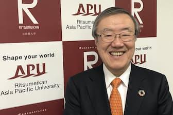 立命館アジア太平洋大学の新学長、出口治明氏
