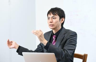 データアーティスト代表取締役社長山本覚氏(写真:Mahoro SHIMIZU、以下同)