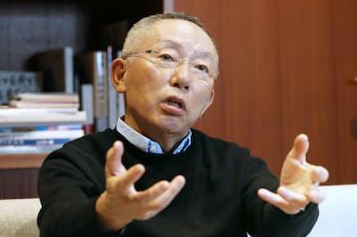 ファーストリテイリングの柳井正会長兼社長